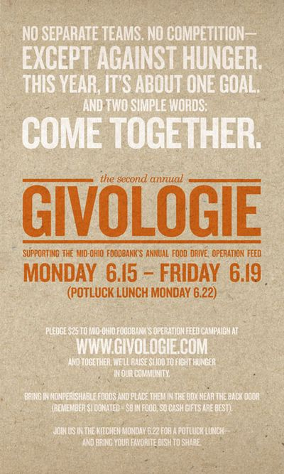OLO-005 Giveologie Poster