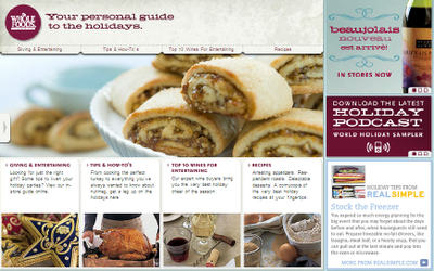 Advergirl whole foods gets in the web game finally i recently came across this online holiday planning guide from whole foods when i same came across i mean either unearthed from their forumfinder Images