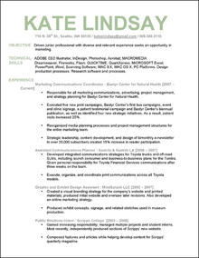 Superior Advertising Resume Makeovers: Part 2  Advertising Resume